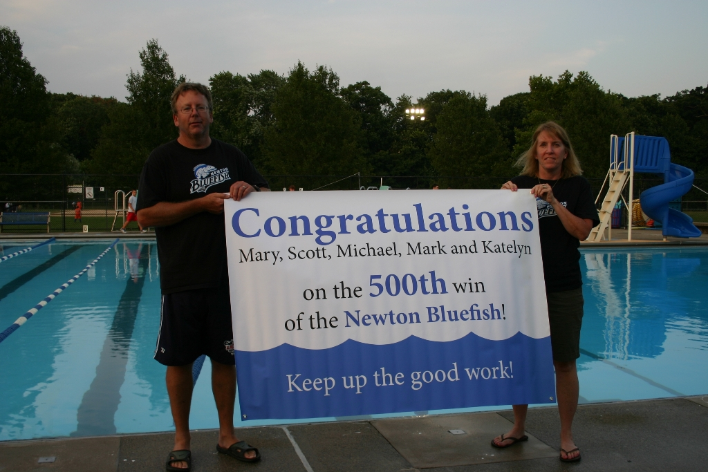 Newton is lucky to have Mary and Scott Pohlman